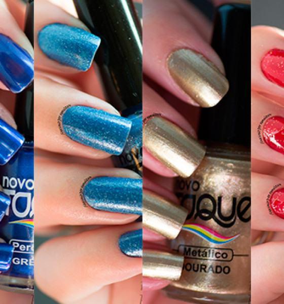 Novo Toque – Tons de Azul, Dourado e Glitter