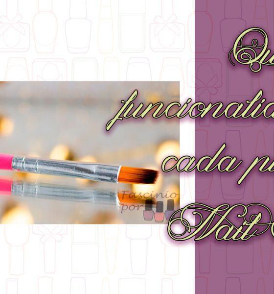 Dicas – Qual a funcionalidade de cada pincel de Nail Art