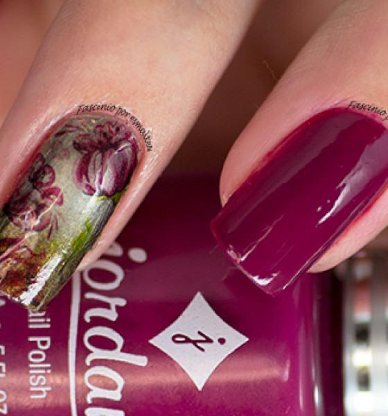 Sindy Francesinhas – Floral Roxo