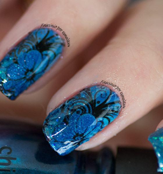 Sindy Francesinhas – Floral Azul