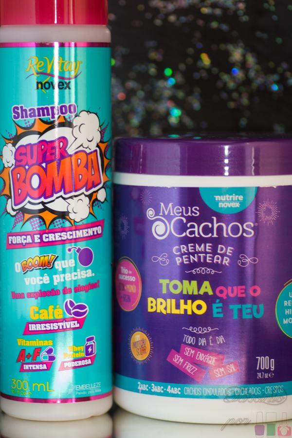 Novex - Shampoo Super Bomba