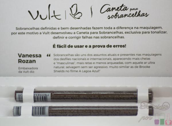 Vult - Caneta Delineadora de Sobrancelha - Cor 1 e 2