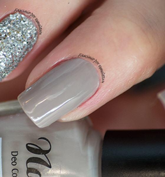 Cissi Películas & Esmaltes – Linha Glamour – Glitter Prata