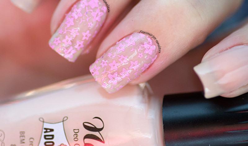 Cissi Películas e Esmaltes – Rendado rosa