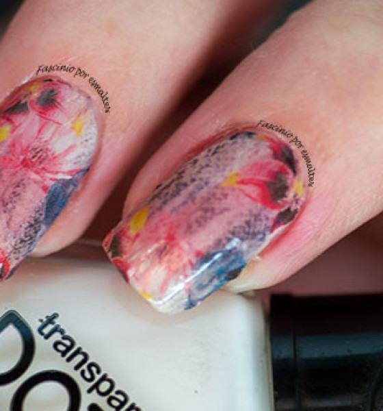 Dedo de moça – Pele de Cobra com Flores