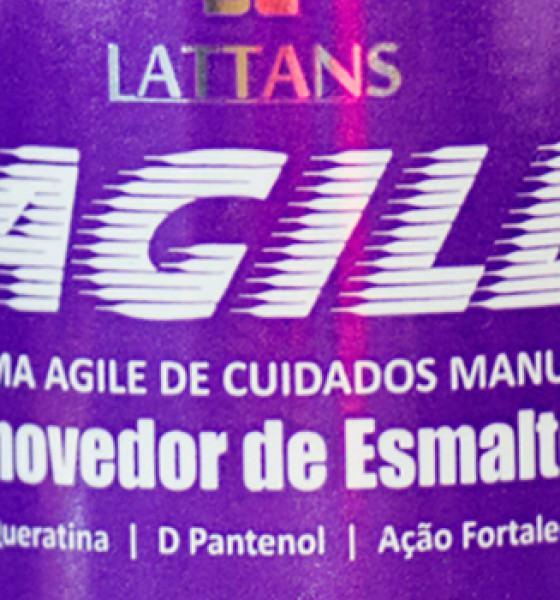 Lattans – Agile – Removedor de esmaltes