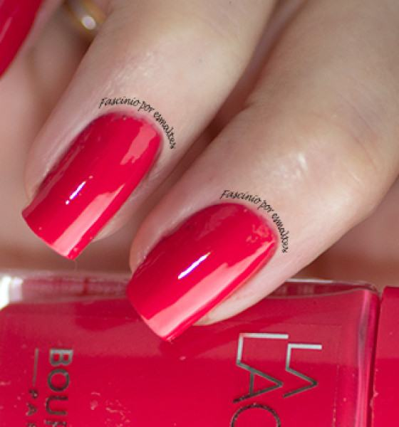 Bourjois – La Laque – Flambant Rose
