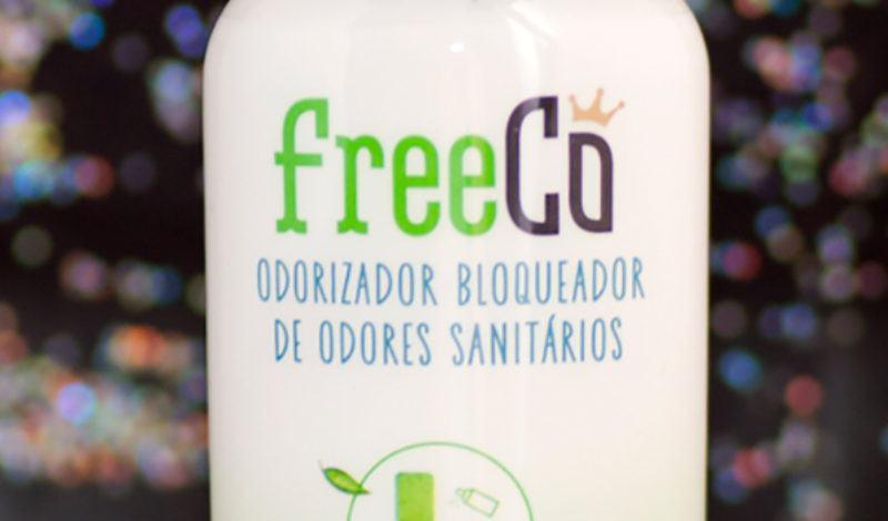FreeCô – Odorizador bloqueador de odores sanitários