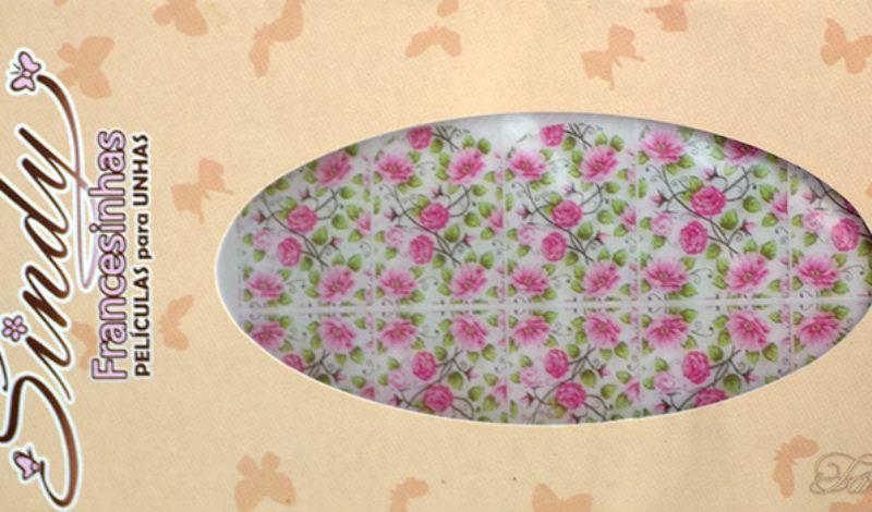 Sindy Francesinhas – Floral Rosa