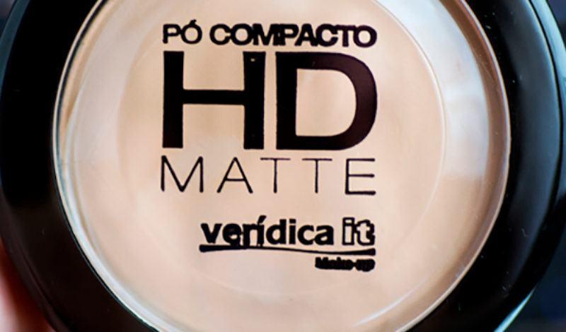 Verídica It – Pó Compacto HD Matte – Cor 01