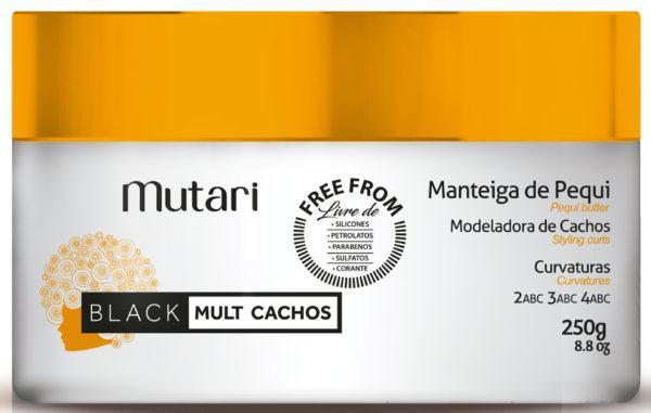 Manteiga de Pequi Modeladora de Cachos - Mutari