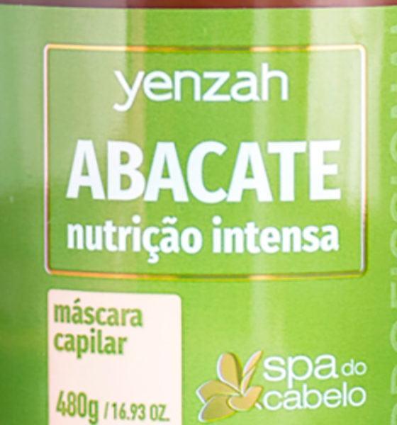Yenzah – Máscara Capilar – Abacate