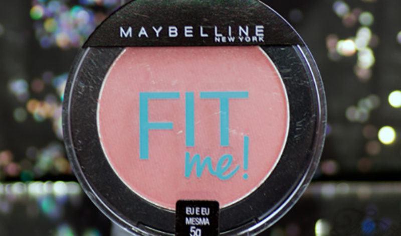 Maybelline – Fit Me – Blush – Cor 04 – Eu e Eu Mesma