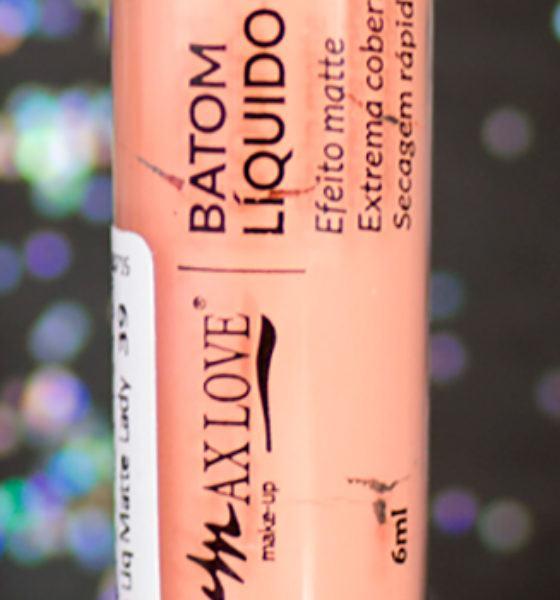 Maxlove – Batom Liquido Matte – Lady