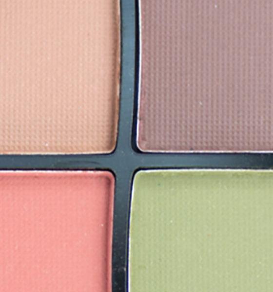 Fenzza – Estojo 4 cores de sombras