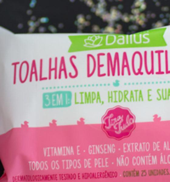 Dailus – Tira Tudo – Demaquilante Bifásico e Toalhas Demaquilantes