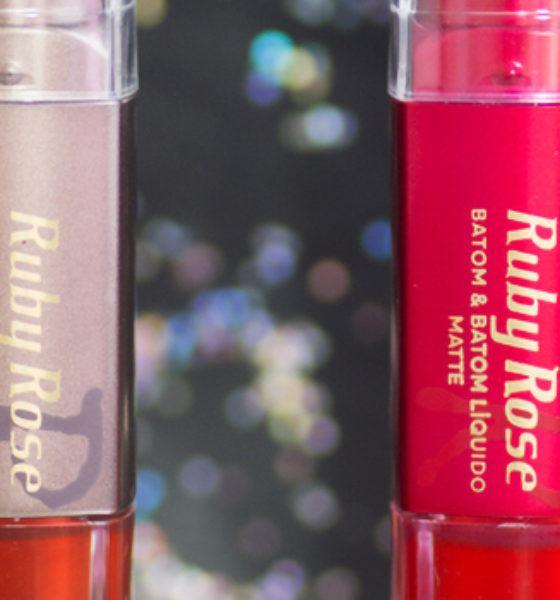 Ruby Rose – Batom Matte Duo – Cor 01 e 272