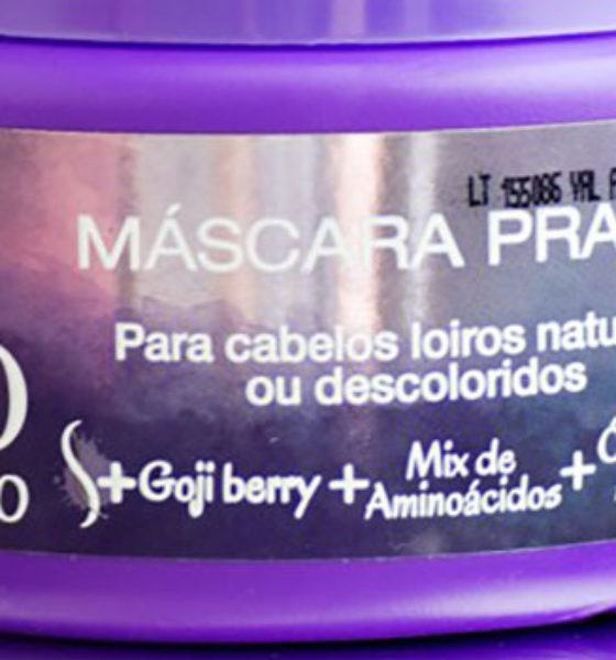 Salon Line – Meu Liso – Máscara Prata