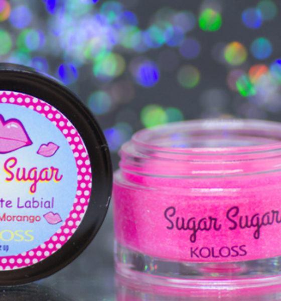 Koloss – Sugar Sugar – Esfoliante Labial – Morango