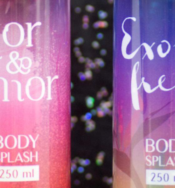 Petúnia – Body Splash – Flor & Amor e Exotic Fresh