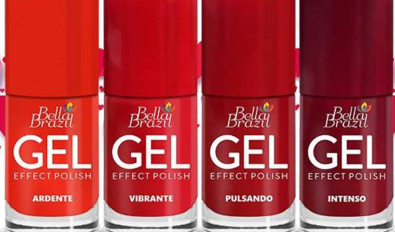 Bella Brazil – Gel Effect – Vermelhos