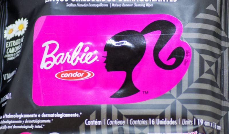 Condor – Barbie – Lenços Demaquilantes