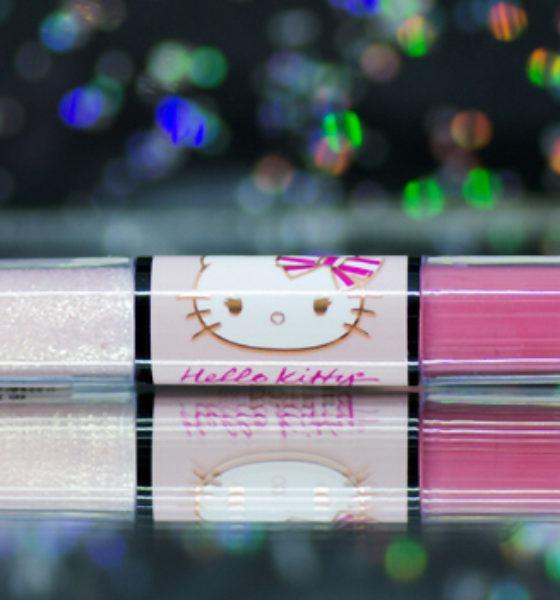 Dote – Hello Kitty – Duo Batom Liquido – Eclair de Morango