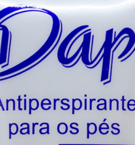 Median – Dap – Antiperspirante para os pés