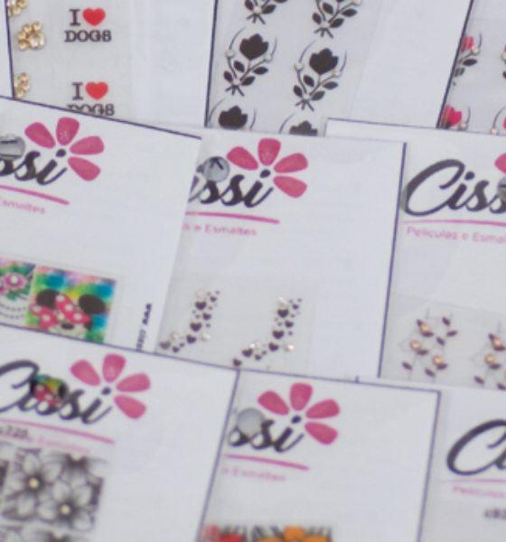 Cissi Películas e Esmaltes – Floral Preenchido