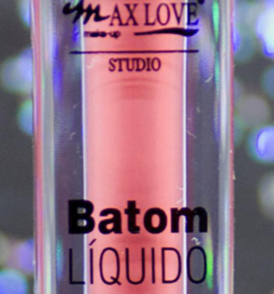 Max Love – Batom Liquido Matte – 12 horas – Cor 110