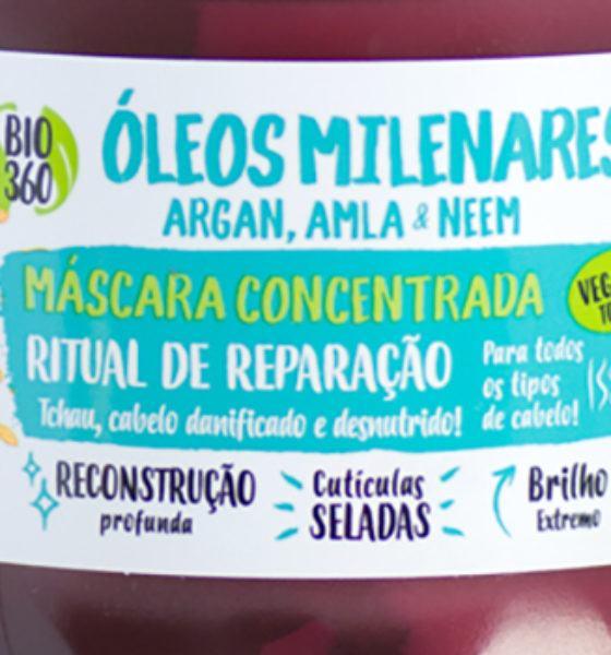Salon Line – Maria Natureza – Máscara Concentrada – Óleos Milenares