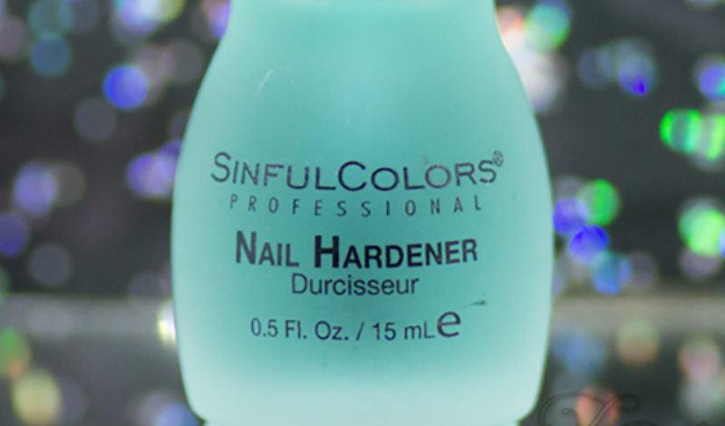 Sinfulcolors – Nail Hardener – Fortalecedor de unhas