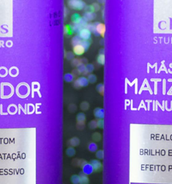 Cless – Studio Pro – Shampoo e Máscara – Matizador Platinum Blonde