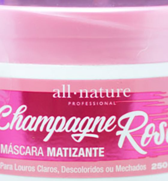 All Nature – Champagne Rosé – Máscara Matizante