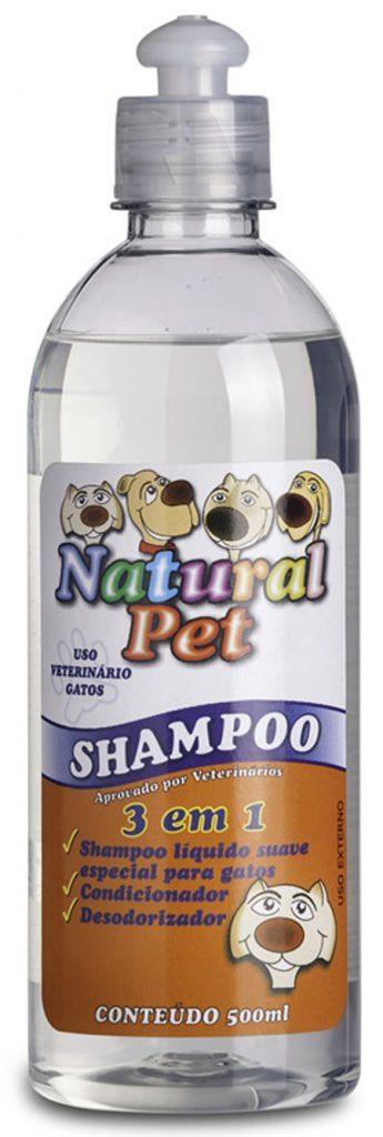 Natural Pet - Shampoo 3 em 1