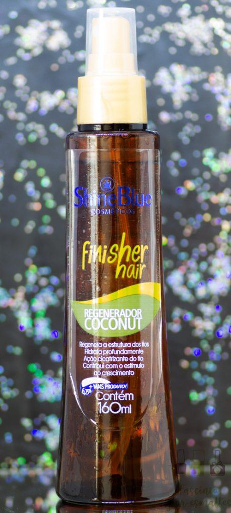Shine Blue - Finisher Hair