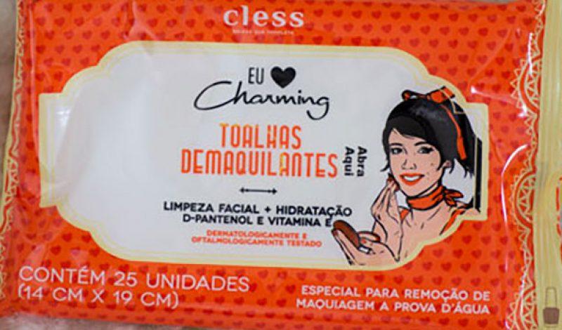 Cless – Eu amo Charming – Toalhas Demaquilantes