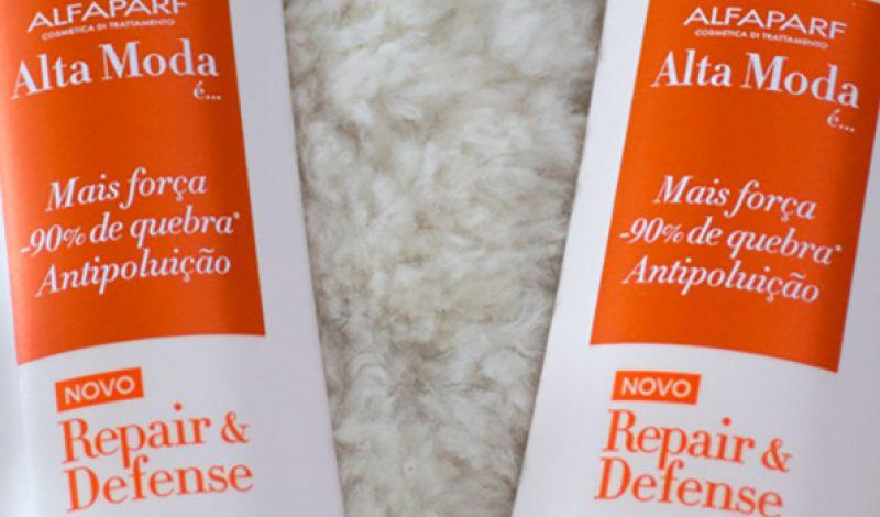 Alfaparf – Alta Moda é – Repair & Defense – Shampoo e Condicionador