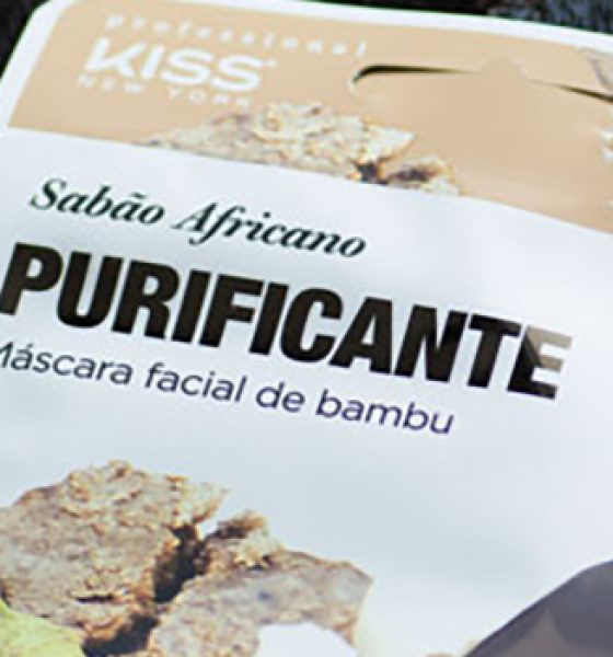 Kiss New York – K-Beauty – Máscara Facial de Bambu
