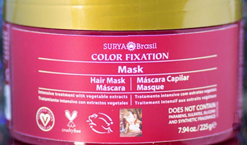 Surya – Color Fixation – Máscara Capilar