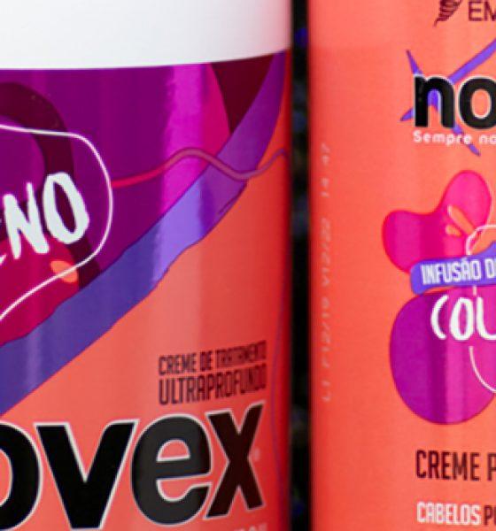 Embelleze – Novex – Infusão de Colágeno – Creme de tratamento ultraprofundo e creme para pentear