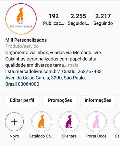 Instagram Mili Personalizados