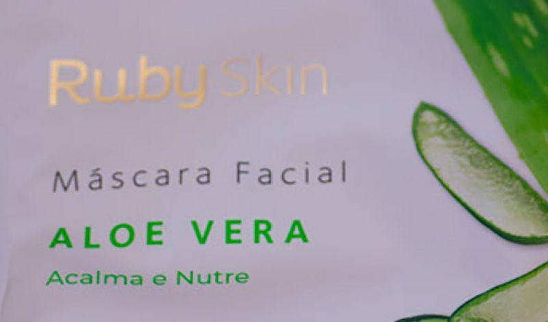 Ruby Rose – Ruby Skin – Máscara Facial – Aloe Vera