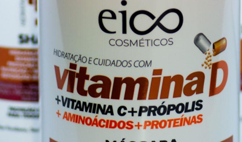 Eico – Vitamina D – Shampoo, Máscara e Condicionador