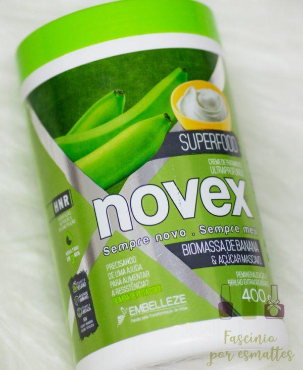 Embelleze - Novex - Biomassa de banana e açucar mascavo